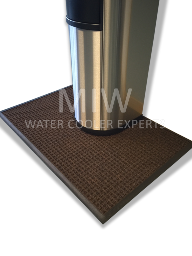 3m Water Cooler Mat 600mmx900mm Black And White Miw