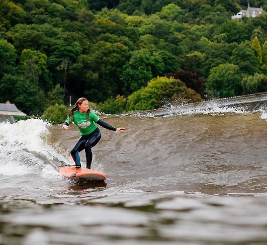 Surf Snowdonia Wales UK