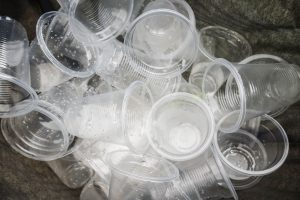 Image of a collection of plastic cups