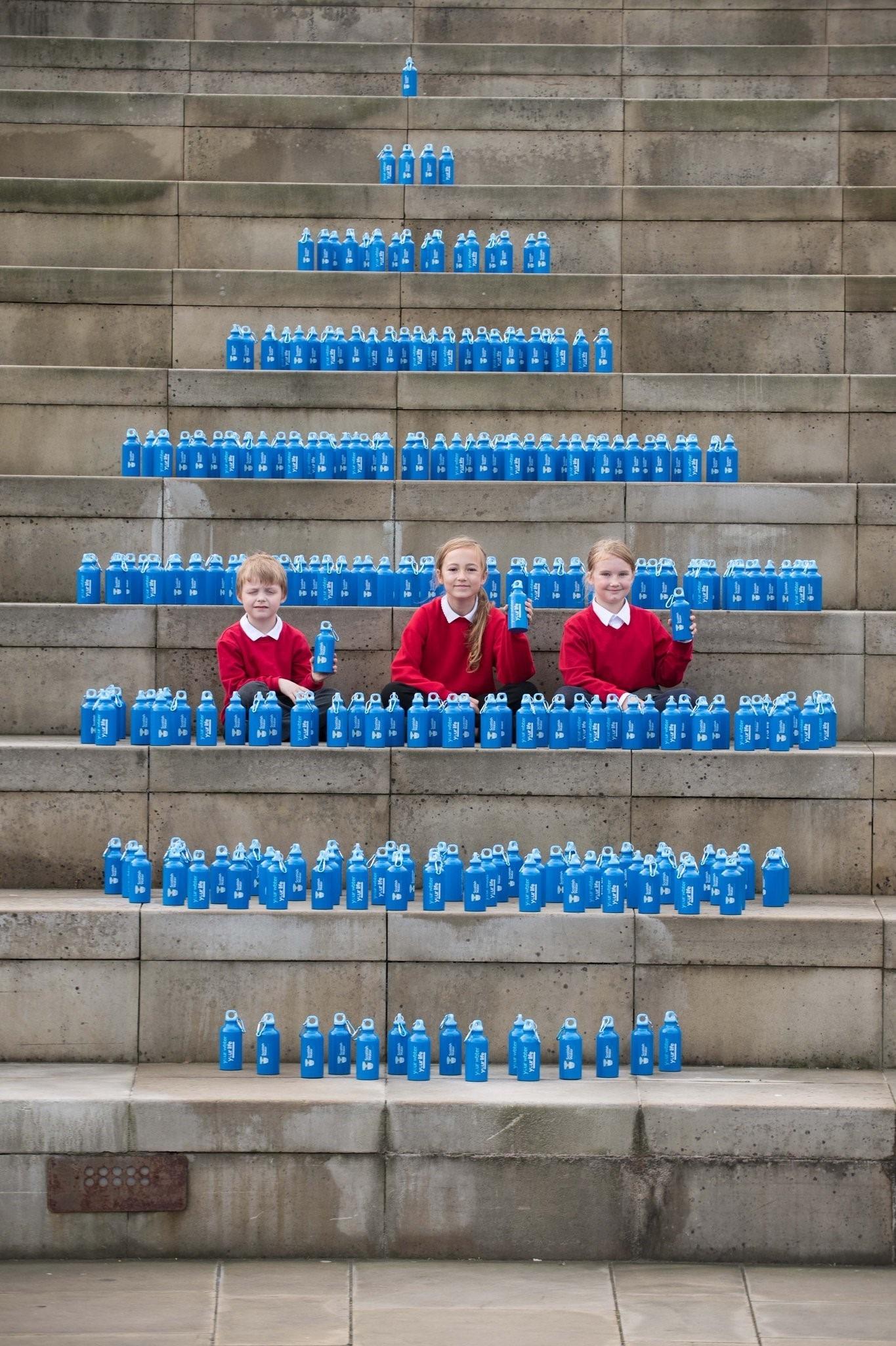 Scottish Water install new MIW/Elkay refill stations