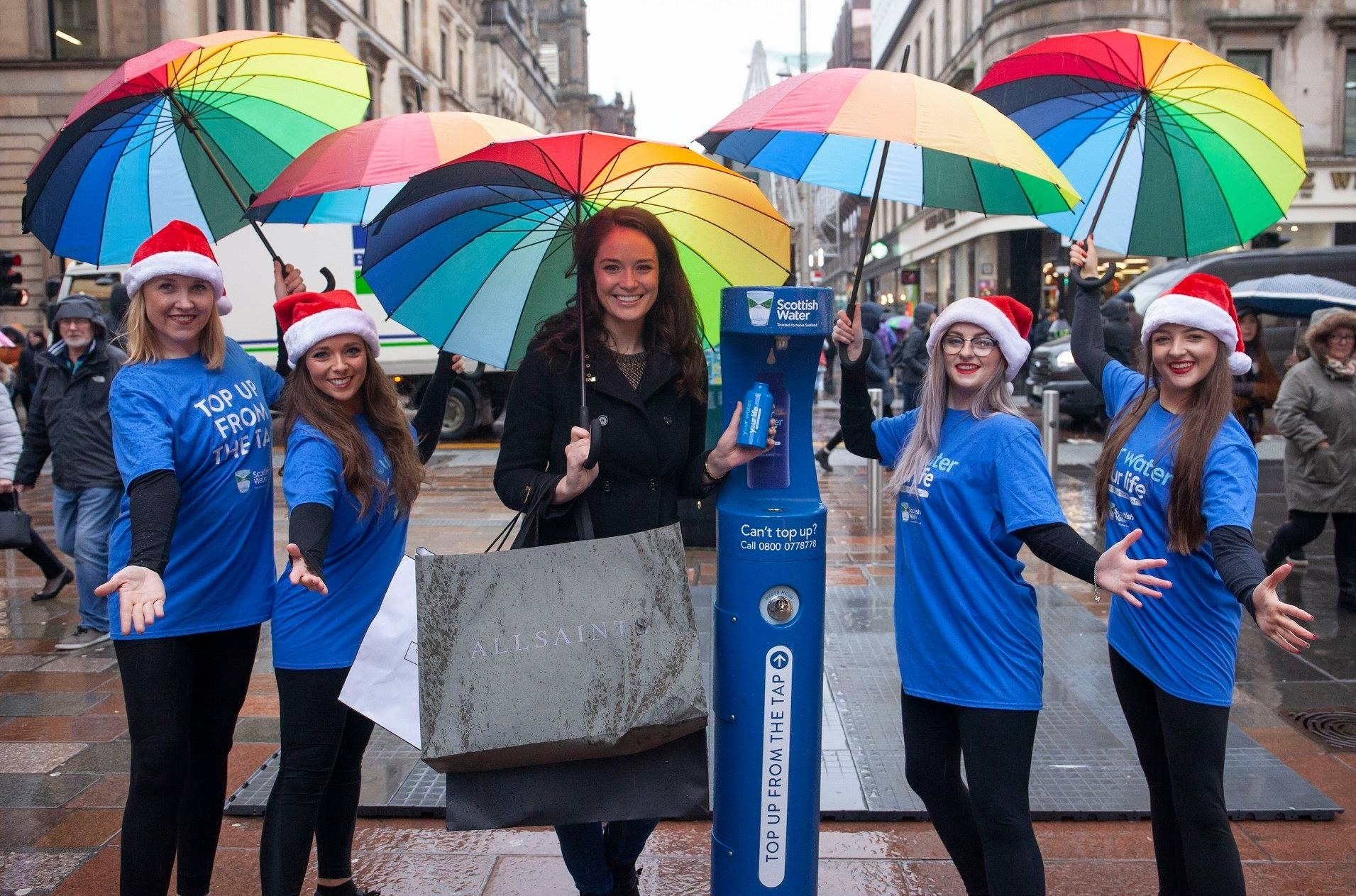 Scottish Water new outdoor refill station by MIW