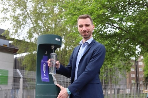 Councillor Adam Harrison, Cabinet Member for Improving Camden's Environment