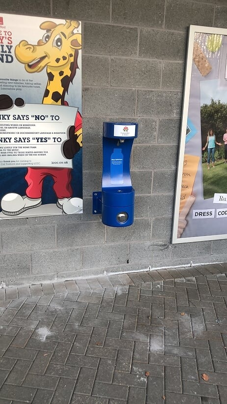 MIW Outdoor Water Refill Station