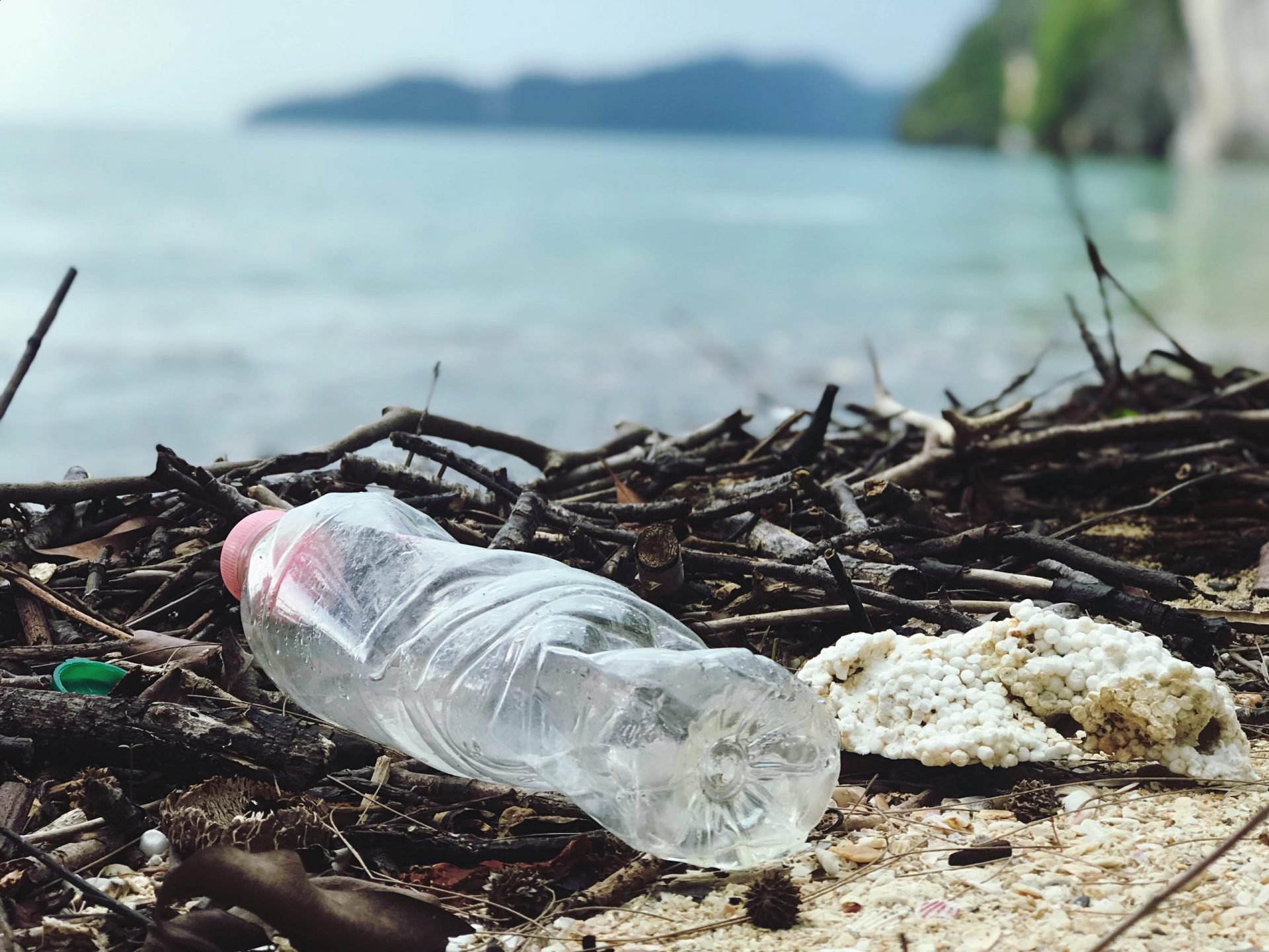 Single-use plastic bottles are destroying our oceans and beaches