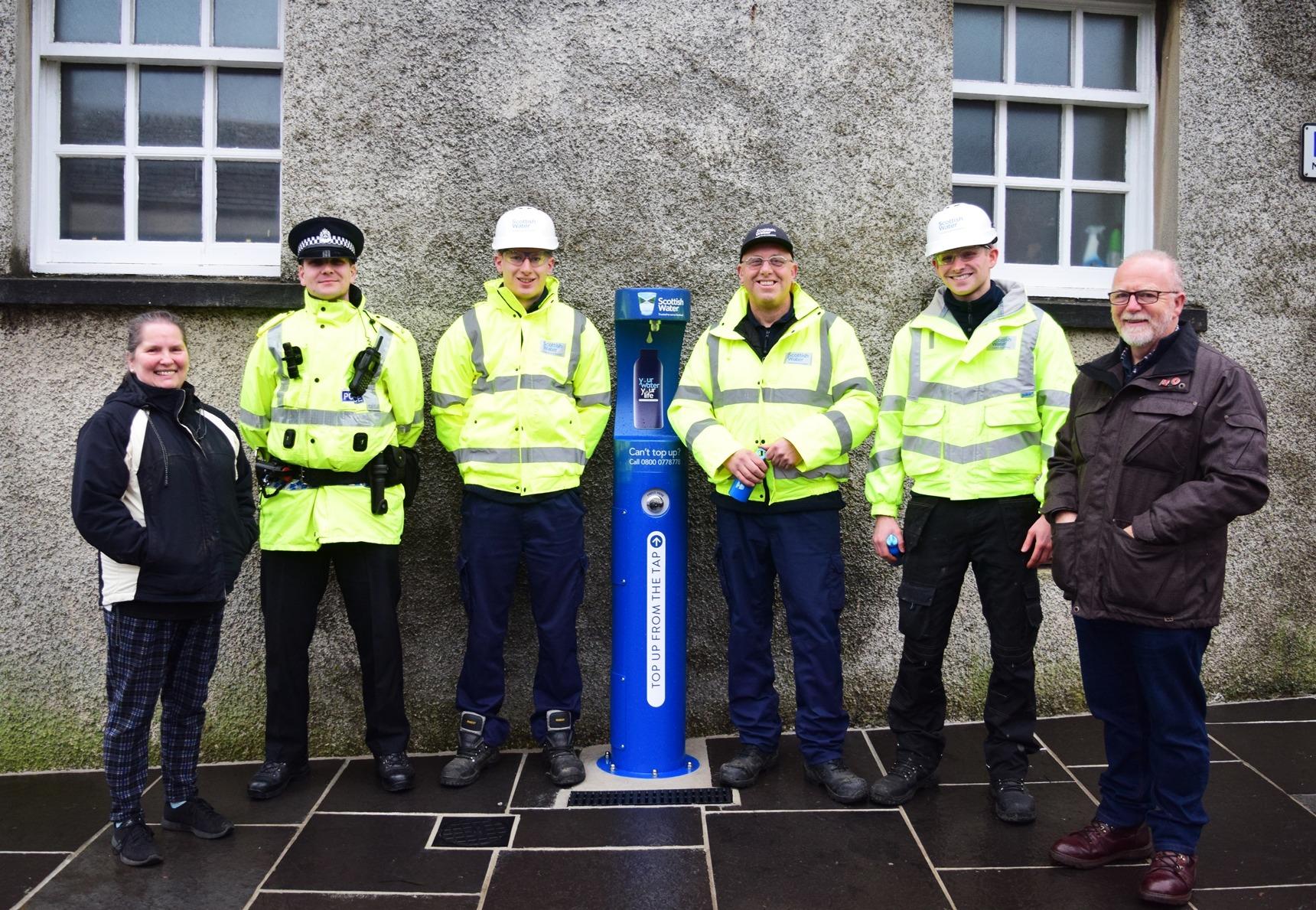 New bottle refill station in Kirkwall