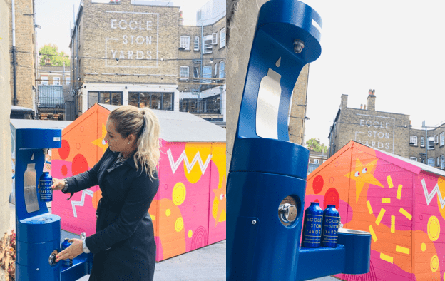 New Grosvernor water bottle refill station