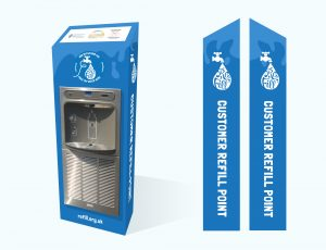 MIW Eco-Dispenser Max UV Superchill water bottle filler