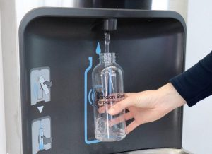 wras approved contactless refill station