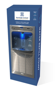 Eco Dispenser customised for Ranelagh School